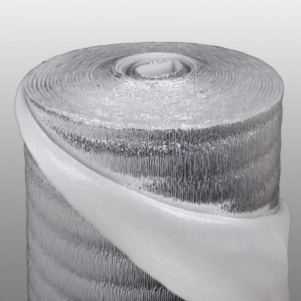Отражающая изоляция с лавсановым покрытием для системы теплый пол (ПЛ) ИЗОКОМ ПЛ